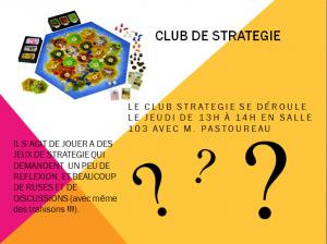 Capture club stratégie